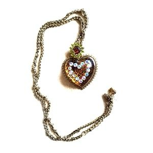 Betsey Johnson Leopard Flower Collection Necklace